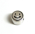 Metall-Perle 7mm Smiley