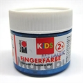 Marabu Fingerfarbe Metallic blau 100ml