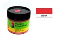 Fingerfarbe Marabu 100ml rot