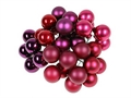 Glasbeeren 20mm 12erBund beeren-rot-Mix