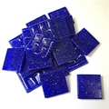 Glasmosaik 20x20mm 200gr Joy royalblau