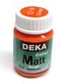 Acrylfarbe Deka Matt 25ml orange