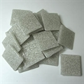 Glasmosaik 20x20mm 200gr Joy nebelgrau