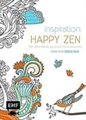 Buch Inspiration Happy Zen / Farbe rein Stress