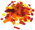 Acryl Mosaik 40gr Gelb/Orange/Rot Mix