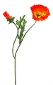 Mohnblume 2er 29cm orange