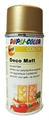 Dupli Decospray Matt 150ml Goldbronze