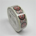 Washi Tape 15mm/10m Rosa Donuts