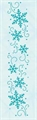 Border Embossing Folder Schneeflocken