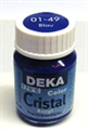 Glasmalfarbe Deka Cristal 25ml blau