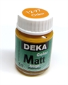 Acrylfarbe Deka Matt 25ml ocker