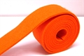 Filzband-Rolle 4cmx3mm à 1.5m orange