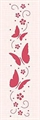 Border Embossing Folder Schmetterlinge