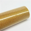 Glitzerfolie 45cmx2m gold