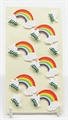 Art Work Sticker Taube mit Regenbogen