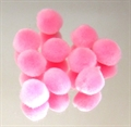 Pompon 10mm 65Stk rose