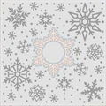 Embossing Folder mit Stanzschablone Snowy