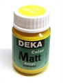 Acrylfarbe Deka Matt 25ml sonne